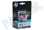 HP 363 Light Magenta Inktcartridge No. 363 Light Magenta