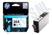 HP 364 Black Inktcartridge No. 364 Black