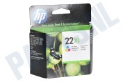 HP 22 XL Color Inktcartridge No. 22 XL Color