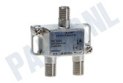 TFC1611 Aftak element Enkelvoudig 16dB incl. 3x F-Connector