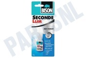 Bison 1490276 Wasmachine Lijm Secondelijm (flacon + kwastje)
