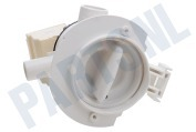 White westinghouse 481236018529 Wasmachine Pomp Afvoer, 2 tuiten -Askoll- geschikt voor o.a. AWA5100, AWT8108S, WATE95751