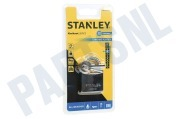 Stanley S742012  S742-012 Stanley Hangslot Solid Brass Chrome Plated 40mm All Weather