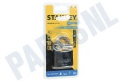Stanley S742013  S742-013 Stanley Hangslot Solid Brass Chrome Plated 50mm All Weather