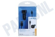 Huawei 10391  Autolader Micro USB, Output 5V / 2.4A, 100cm GSM, Smartphone, Tablet