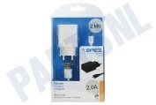 Oplader Micro USB, 2A