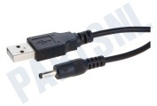USB Kabel Laadkabel, 3,5 mm pin