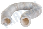 Slang 100 mm wit -PVC- 15 meter