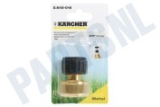 "Karcher 26450160  2.645-016.0 Messing Slangkoppeling 3/4"" 3/4"""