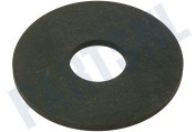 Rubber bodemklep 74x22x2mm