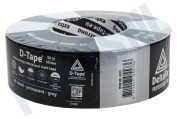 Deltafix 5573  Ducktape 50mx50mm Grijs Extra sterk, 50m x 50mm