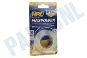 HPX  HT1902 MaxPower Transparant 19mm x 2m Bevestigingstape, 19mm x 2 meter