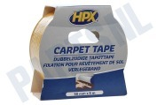 HPX CT5005 Carpet tape Dubbelzijdig 50mm x 5m Bevestigingstape, 50mm x 5 meter