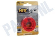 HPX  PT0012 PTFE Afdichtingstape Gas Wit 12mm x 12m Isolatietape, 12mm x 12 meter