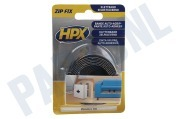 HPX ZF2001 Zip Fix  Klittenband Haak + Lus 20mm lengte 1 meter Zip Fix, 20mm, lengte 1 meter