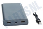 B20A GP B-Series Powerbank 20000mAh Charcoal Grey