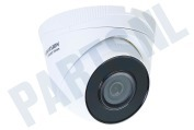 Hiwatch 311303374  HWI-T240H HiWatch Turret Outdoor Camera 4 Megapixel 4MP, POE, H.265+