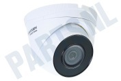 Hiwatch 311303375  HWI-T220H HiWatch Turret Outdoor Camera 2 Megapixel 2MP, POE, H.265+