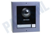 Hiwatch 305301497 DS-KD8003-IME1/SURFACE Video  Intercom Module Door Station 2MP, 180 graden fisheye, met opbouw behuizing