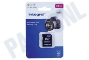 Integral INSDH32G-100V10 V10 High Speed SDHC Memory Card 32GB V10 SDHC card 32GB 100MB/s