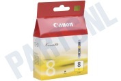 Inktcartridge CLI 8 Yellow