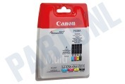 Canon 1872574 Canon printer Inktcartridge CLI 551 BK/C/M/Y multipack Pixma MX925, MG5450
