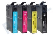 Easyfiks C13T29964010 T2996 Epson printer Inktcartridge 29XL Multipack BK/C/M/Y XP235, XP332, XP335