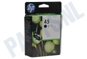 HP 45 Inktcartridge No. 45 Black