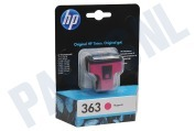 HP 363 Magenta Inktcartridge No. 363 Magenta