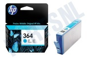 HP Hewlett-Packard 1417914 HP 364 Cyan  Inktcartridge No. 364 Cyan Photosmart C5380, C6380