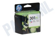 HP Hewlett-Packard 1593427 HP 301 Xl Color  Inktcartridge No. 301 XL Color Deskjet 1050,2050