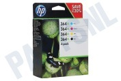 HP 364 XL 4-Pack N9J74AE