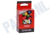 Lexmark 018C1524E Lexmark printer Inktcartridge No. 24 Color X3530, X3550, X4530