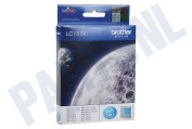 Brother LC1000C Brother printer Inktcartridge LC 1000 Cyan DCP130C, DCP330C