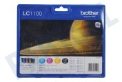Brother LC1100VALBP Brother printer Inktcartridge LC 1100 Multipack MFC490CW,MFCJ615W,MFC790C