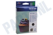 Brother LC123BK Brother printer Inktcartridge LC 123 Black DCPJ132W, DCPJ152W, MFCJ245