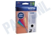 Brother 2201798 LC-223BK Brother printer Inktcartridge LC-223 Black DCP-J4120DW, MFC-J4420DW, MFC-J4620DW