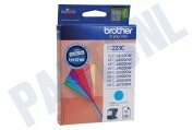 Brother LC223C LC-223C Brother printer Inktcartridge LC-223 Cyan DCP-J4120DW, MFC-J4420DW, MFC-J4620DW