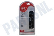 One For All URC6820 URC 6820 Universele  Afstandsbediening Zapper+ geschikt voor o.a. TV, LCD, SAT, PLASMA, CABLE, DVB-T, STB