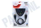 Cablexpert DSW-HDMI-35  3-Poorts HDMI Switch 3 apparaten op 1 HDMI ingang