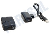 Marmitek 25008129  08129 Connect TC22 Digitale audio converter Toslink naar coaxiaal