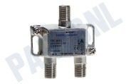 Hirschmann 695020483 TFC1611  Aftak element Enkelvoudig 16dB incl. 3x F-Connector, nummer 42 TFC 1611 Shop