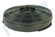 Whirlpool 484000008610 CHF34  Filter koolstof Model 34 -25cm-