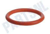 NM01.044 O-ring Siliconen, rood DM=40mm