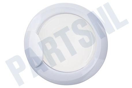Ariston-Blue Air Wasmachine 116557, C00116557 Deur Compleet met glas -wit-
