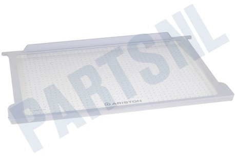 Ariston-Blue Air Koelkast 284844, C00284844 Glasplaat 470x303x14  + omranding