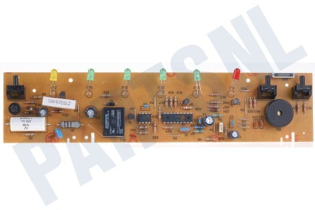 Ariston-Blue Air Koelkast 65453, C00065453 Module Print met 6 lampjes