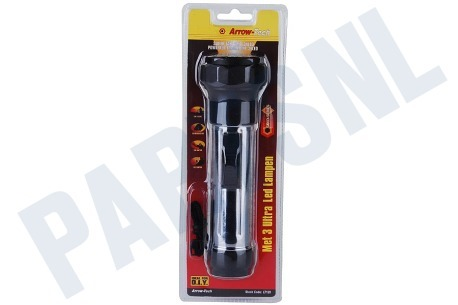 Arrow-Tech  Zaklantaarn Met 3 ultra led lampen