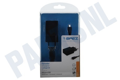 Spez  Oplader Micro-USB, 1.5A