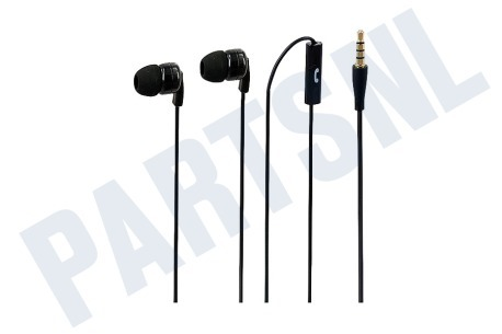 Sonim  Stereo headset In-ear met opname knop, Zwart